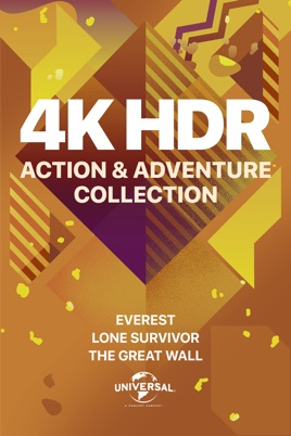 ‎Universal 4K HDR Action & Adventure Collection on iTunes