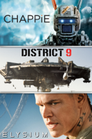 Sony Pictures Entertainment - Chappie / District 9 / Elysium artwork