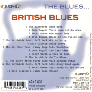 Various Artists - The Blues... British Blues
