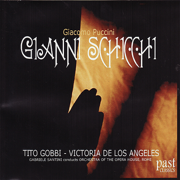Puccini: Gianni Schicchi - Tito Gobbi, Victoria De Los Angeles, The Orchestra Of The Opera House, Rome & Gabriele Santini - Tito Gobbi, Victoria De Los Angeles, The Orchestra Of The Opera House, Rome & Gabriele Santini