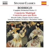 Rodrigo: Concierto Madrigal - Concierto Para Una Fiesta (Complete Orchestral Works, Vol. 5)