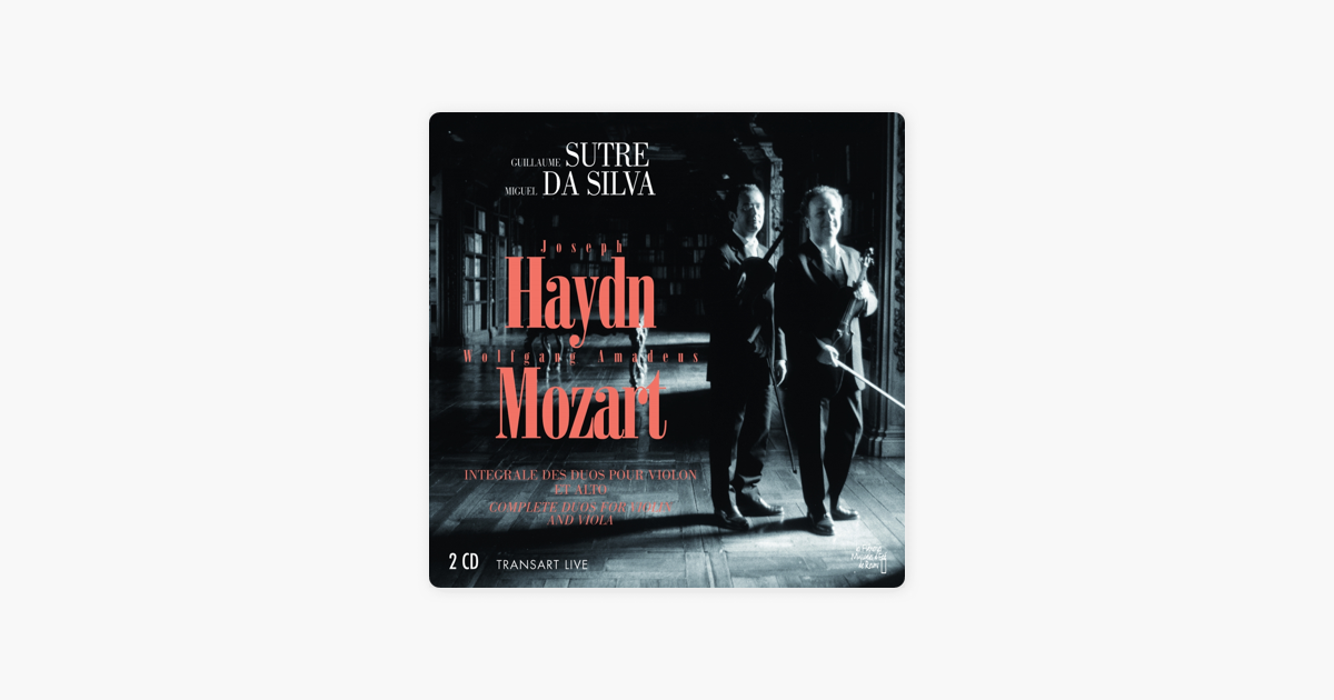 Haydn mozart complete duos for violin and viola by guillaume
