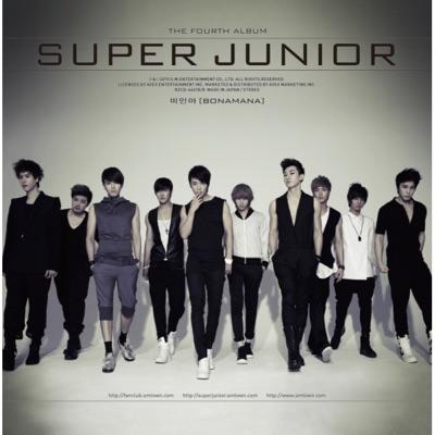 """The 4th Album """"Bonamana"""" Repackage - Super Junior"""