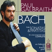 Paul Galbraith - Violin Partita No. 2 In D Minor, BWV 1004