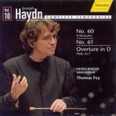 Haydn, J.: Symphonies, Vol. 10 - Nos. 60, 61 - Sinfonia In D Major, Hob.Ia:7