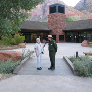 Download Zion National Park, Utah, Part 1: Audio Journeys Explores the Red Rock Canyons of Zion National Park (Unabridged) Audio Book
