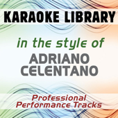 Svalutation (Full Vocal Version) [In the Style of Adriano Celentano]