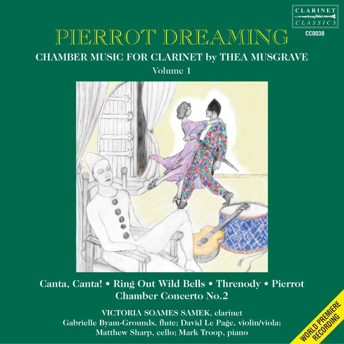 Pierrot for Violin, Clarinet and Piano - 1st Movt