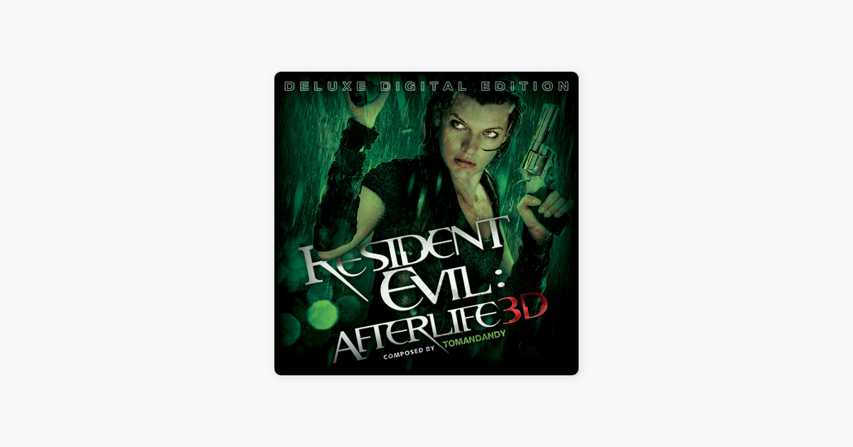Resident Evil Afterlife Soundtrack From The Video Game Deluxe
