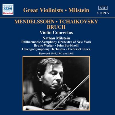 Mendelssohn, Tchaikovsky & Bruch: Violin Concertos - New York Philharmonic