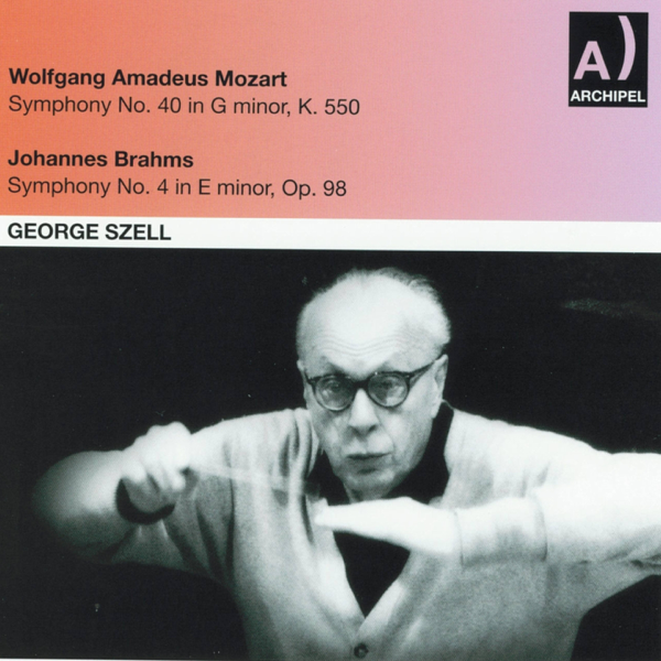Wolfgang Amadeus Mozart: Symphony No  40 In G minor, K  550 - Johannes  Brahms : Symphony No  4 In E minor, Op  98 by NDR Symphony Orchestra &  George
