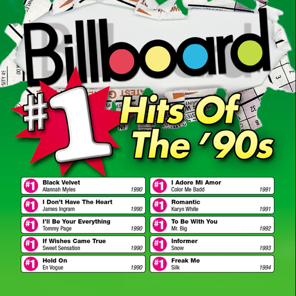 ‎Billboard: #1 Hits of the 90's by Various Artists