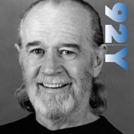 George Carlin with Judy Gold at the 92nd Street Y audiobook