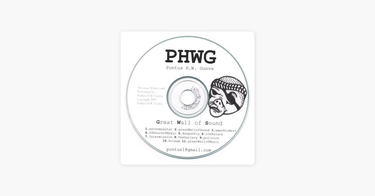 Great Wall of Sound by PHWG