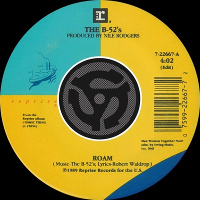 Roam (Edit) / Bushfire [Digital 45] - Single - The B-52's