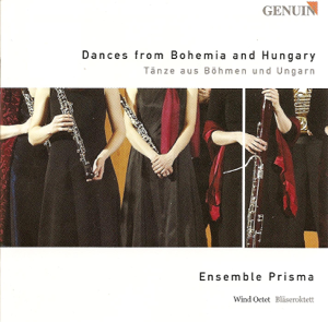 Ensemble Prisma - Dances from Bohemia and Hungary - Dvořák, Brahms, Liszt, Farkas & Smetana: Chamber Music