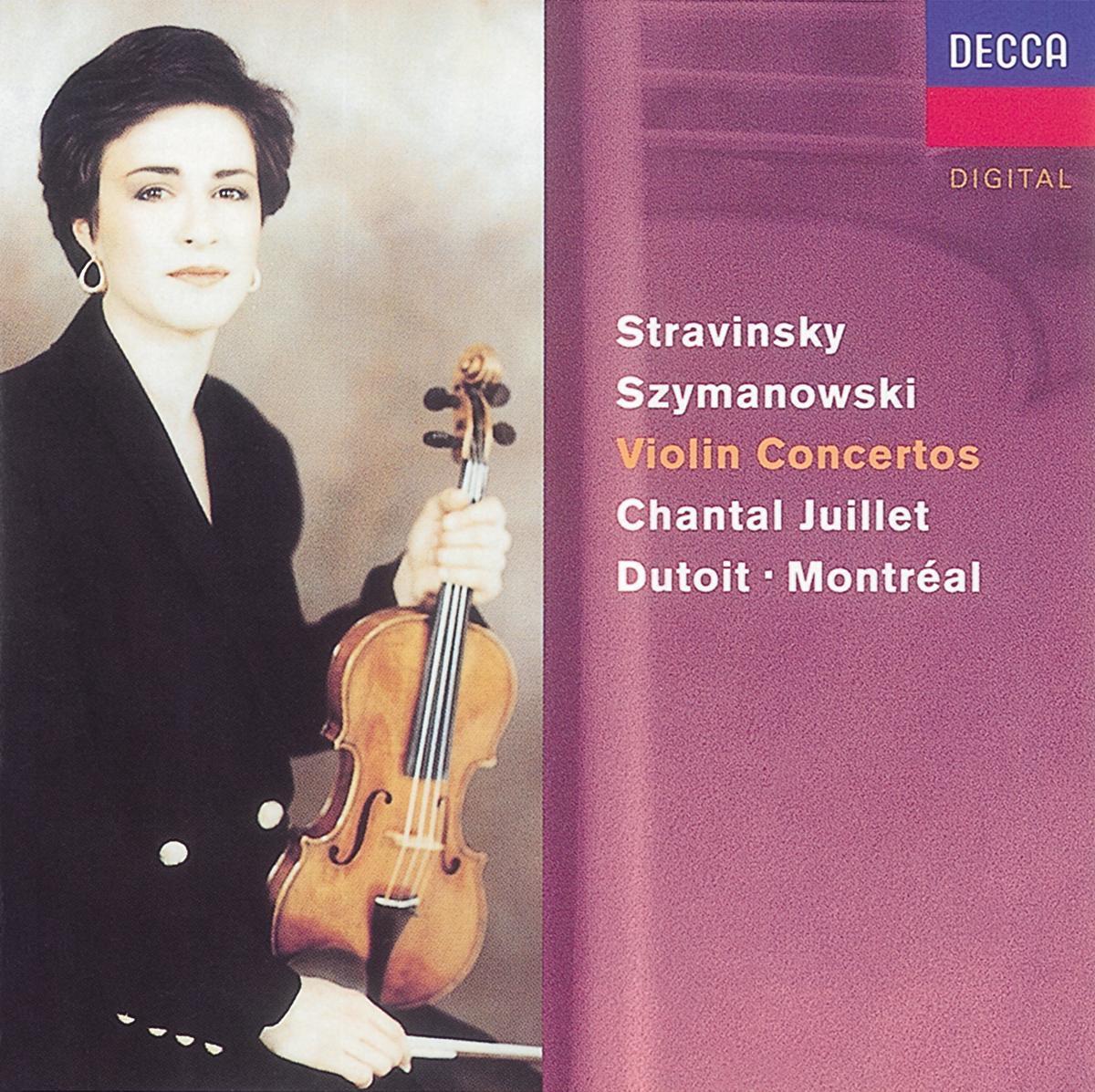 Stravinsky: Violin Concerto - Szymanowski: Violin Concertos Nos. 1 & 2