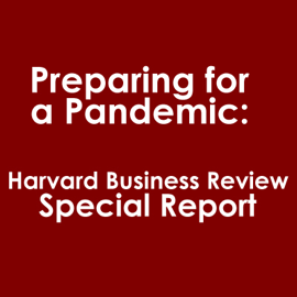 Preparing for a Pandemic: Harvard Business Review Special Report (Abridged) audiobook