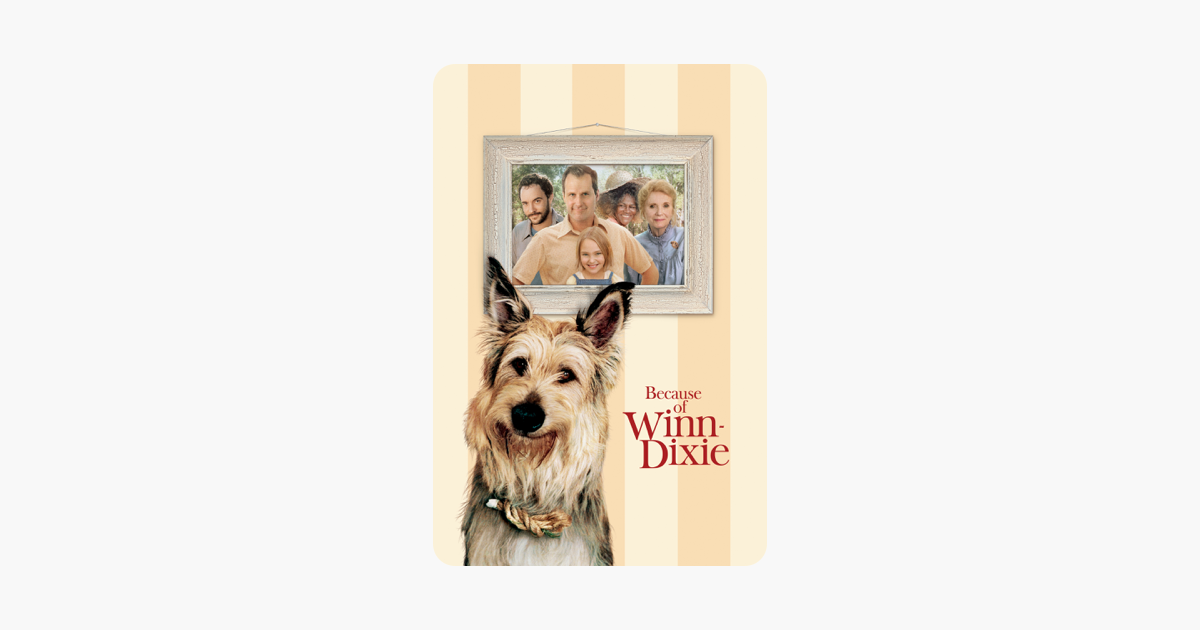 Because of Winn-Dixie on iTunes