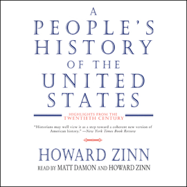 A People's History of the United States: Highlights from the Twentieth Century (Abridged Nonfiction) audiobook