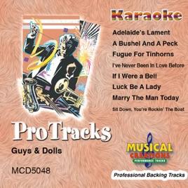 Karaoke - Guys & Dolls by Studio Musicians on iTunes