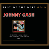 Johnny Cash - Greatest Hits: Best of the Best Gold artwork