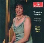 Sonata in C, K.132 - Susan Miron, harp - Domenico Scarlatti (tr. Miron)