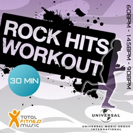 Rock Hits Workout 60 - 145 (90bpm Ideal For Cardio Machines, Circuit  Training, Jogging, Gym Cycle & General Fitness) by Various Artists