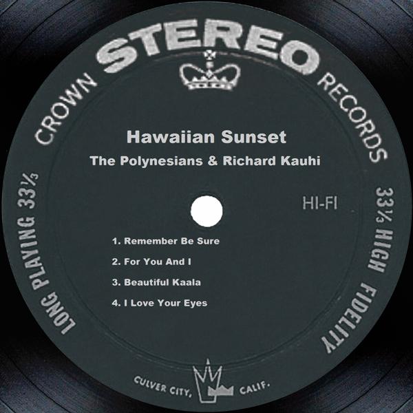 Hawaiian Sunset by The Polynesians & Richard Kauhi on iTunes