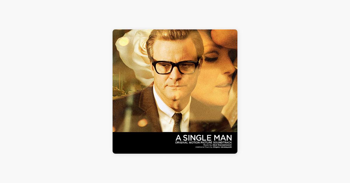 A single man soundtrack