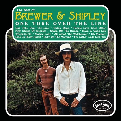 Art for One Toke Over The Line by Brewer & Shipley