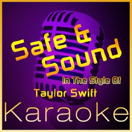 Taylor swift safe and sound karaoke instrumental (sing with the.