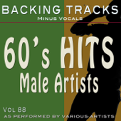 60's Hits Male Vol 88 (Backing Tracks)