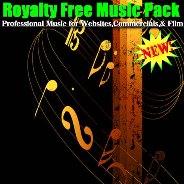 Professional Music For Websites, Commercials, And Film by Royalty Free  Music Pack