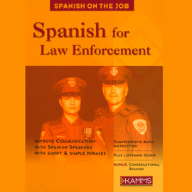 Spanish for Law Enforcement (Unabridged) audiobook