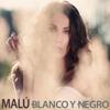 Malú - Blanco y Negro ilustración