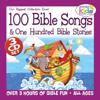 100 Bible Songs & 100 Bible Stories - The Wonder Kids