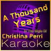 A Thousand Years (In the Style of Christina Perri) [Karaoke Instrumental Version] - High Frequency Karaoke