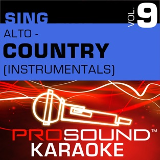 Sing Alto – Country,  Vol. 9 (Karaoke Performance Tracks) – ProSound Karaoke Band
