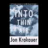 Jon Krakauer - Into Thin Air  artwork
