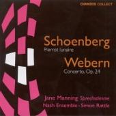Jane Manning/Nash Ensemble/Simon Rattle - Pierrot Lunaire, Op. 21: Part I: Mondestrunken - Colombine - Der Dandy - Eine blasse Wascherin - Valse de Chopin - Madonna - Der kranke Mond