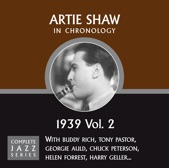 Artie Shaw - Easy To Say (06-22-39)