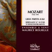 Sérénade No. 10 en si bémol majeur Gran Partita pour 13 instruments à vent: Adagio, K 361