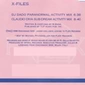 DJ Dado - X Files (Dj Dado Paranormal Activity Mix)