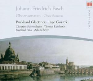 Burkhard Glaetzner - Fasch: Chamber Music With Oboe