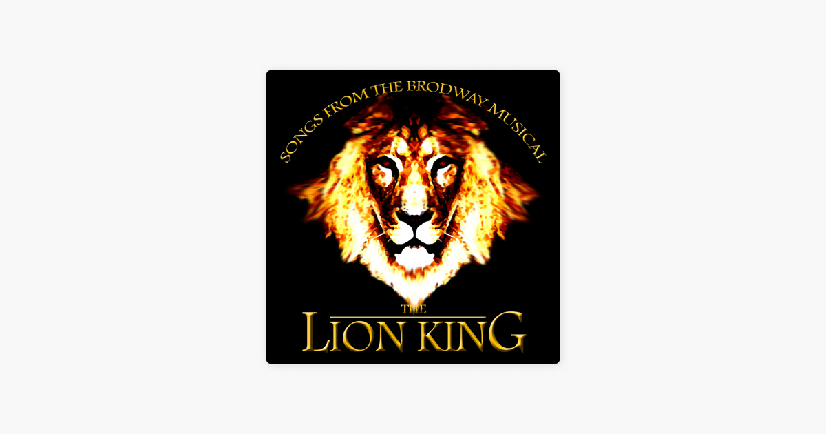 The Lion King Songs From The Broadway Musical Ep Von Eoff