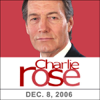 Charlie Rose - Charlie Rose: Stephen Colbert and John F. Burns, December 8, 2006  artwork