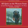 Erich Maria Remarque - All Quiet on the Western Front (Unabridged)  artwork