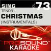 O Holy Night (Karaoke Instrumental Track) [In the Style of Josh Groban] - ProSound Karaoke Band