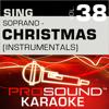 Sing Soprano - Christmas, Vol. 38 (Karaoke Performance Tracks) - ProSound Karaoke Band
